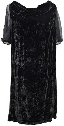 Bruuns Bazaar Black Velvet Dress for Women