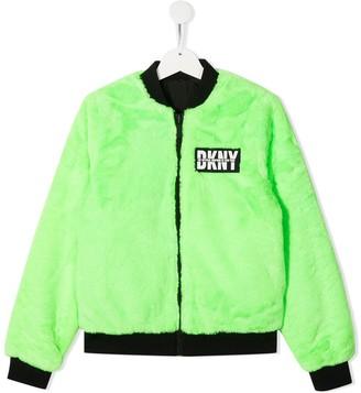 DKNY TEEN reversible bomber jacket