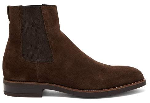 f0da25766ac Canon Suede Chelsea Boots - Mens - Brown