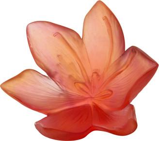 Daum Large Safran Flower