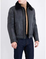 Salvatore Ferragamo Shearling leather jacket