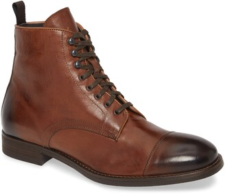 To Boot Richmond Cap Toe Lace-Up Boot