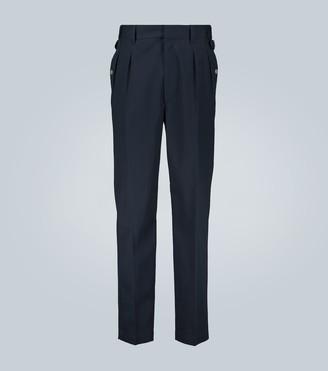 Maison Margiela Cotton double-pleated pants
