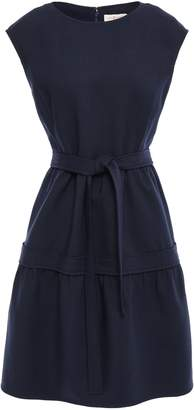 Tory Burch Belted Gathered Twill Dress