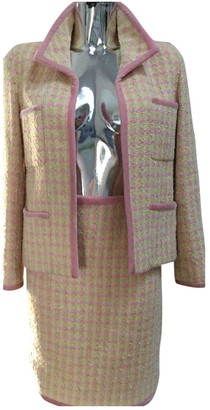 Chanel Multicolour Wool Jacket for Women Vintage