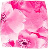 Roberto Cavalli Floral Woven Scarf