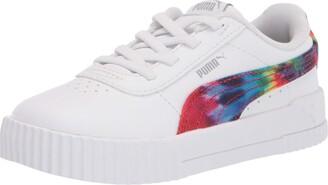 Puma unisex child Carina Slip on Sneaker