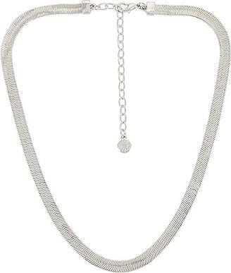 BaubleBar Gia Herringbone Necklace