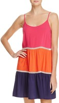 Tory Burch Color-Block Dress Swim Cover-Up