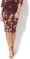 New York & Co. 7th Avenue Design Studio Floral Pencil Skirt