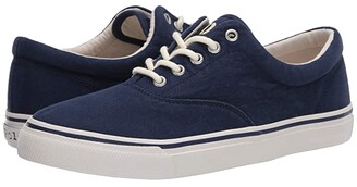 Polo Ralph Lauren Harpoon (Navy Washed Canvas) Men's Shoes