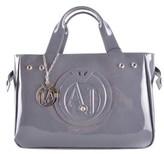 Armani Jeans Women's Grey Polyester Handbag.