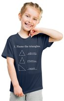 Crazy Dog T-shirts Crazy Dog Tshirts Youth Funny Name The Triangles Nerdy Math Science T shirt -XL