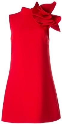 Saiid Kobeisy one-shoulder origami dress