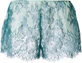 Yes Master - Clarita Boudoir frenchie shorts - women - Silk/Spandex/Elastane - S