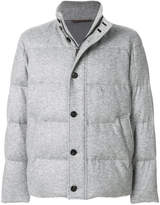 Ermenegildo Zegna padded single breasted jacket