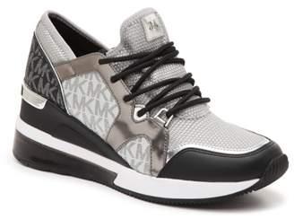 MICHAEL Michael Kors Liv Trainer Extreme Wedge Sneaker