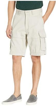 Polo Ralph Lauren Classic Fit Gellar Cargo Shorts (Classic Stone) Men's Shorts