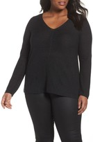 Eileen Fisher Plus Size Women's V-Neck Sweater