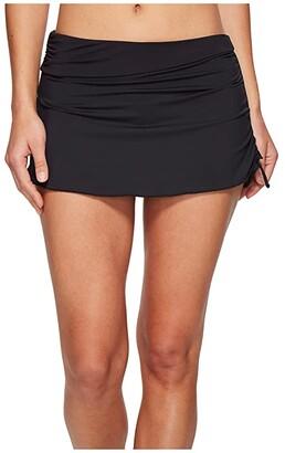 Carve Designs Hoku Swim Skirt (Black) Women's Skirt