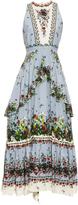 Erdem Nerissa Field Flower-print midi dress