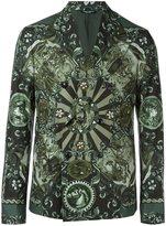 Dolce & Gabbana Carretto Siciliano print blazer