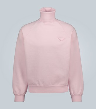 Prada Oversized high-neck sweatshirt