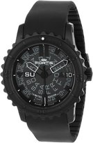 Fortis Men's 675.18.81 K B-42 Big Automatic PVD Rotating Bezel Rubber Watch