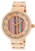 Earth Wood EARTH Women's Root Watch with Eco-Friendly Sustainable Wood Bracelet