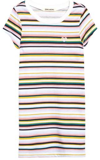 Billabong Soul Babe Stripe T-Shirt Dress