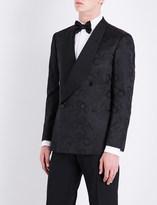 Ralph Lauren Purple Label Slim-fit silk tuxedo jacket