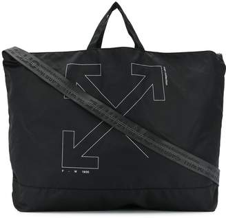 Off-White unfinished arrows tote