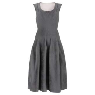 Alaia Grey Viscose Dresses