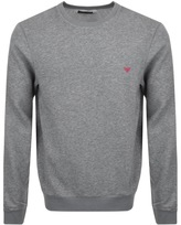 Giorgio Armani Emporio Loungewear Sweatshirt Grey