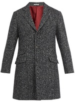 Brunello Cucinelli Herringbone-tweed Wool And Cashmere Coat