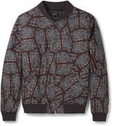 A.p.c. - Slim-fit Paisley-print Cotton Bomber Jacket