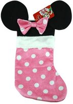 Disney Mouse Ears 18 Velour Christmas Stocking with Plush Cuff (Minnie Mouse - Pink)