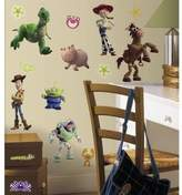 USA TOY STORY WALL DECALS Buzz Lightyear Woody Kids Bedroom Stickers Room Decor