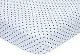 Carter's Stars Sateen Fitted Crib Sheet