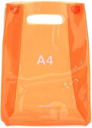 Nana-Nana A4 Build-In Handle Shoulder Bag