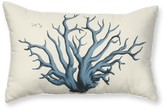 Williams-Sonoma Outdoor Printed Pillow, Blue Coral