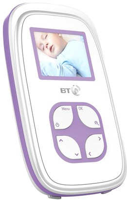 Bt Video Baby Monitor 2000 with Snuza Hero MD Bundle