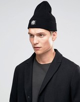 Ps By Paul Smith Merino Wool Beanie In Black
