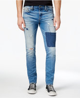 True Religion Men's Geno Slim-Fit Stretch Ripped Destroyed Jeans