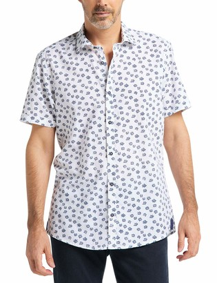 Pioneer Men's Shirt All Over Print Casual