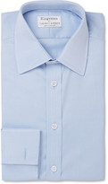Turnbull & Asser Kingsman + Blue Cotton-Twill Shirt
