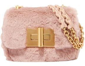 Tom Ford Natalia Faux Fur Shoulder Bag