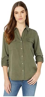 Sanctuary Conroy Surplus Shirt (Fatigue) Women's Clothing