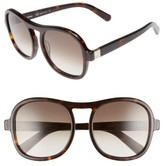 Chloé Women's Marlow 56Mm Gradient Lens Sunglasses - Black