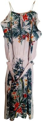 Sandro White Silk Dresses